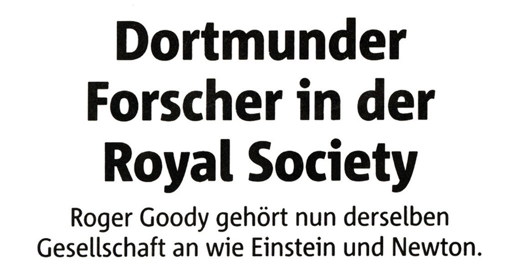 Dortmunder Forscher in Royal Society